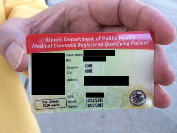 Illinois Medical Cannabis Card