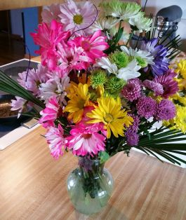 welcome home flowers