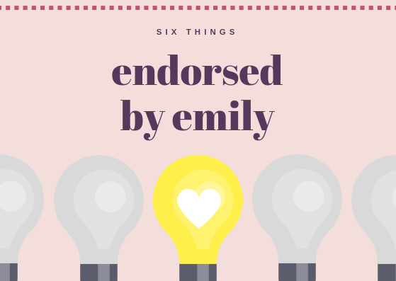 endorsed by emily
